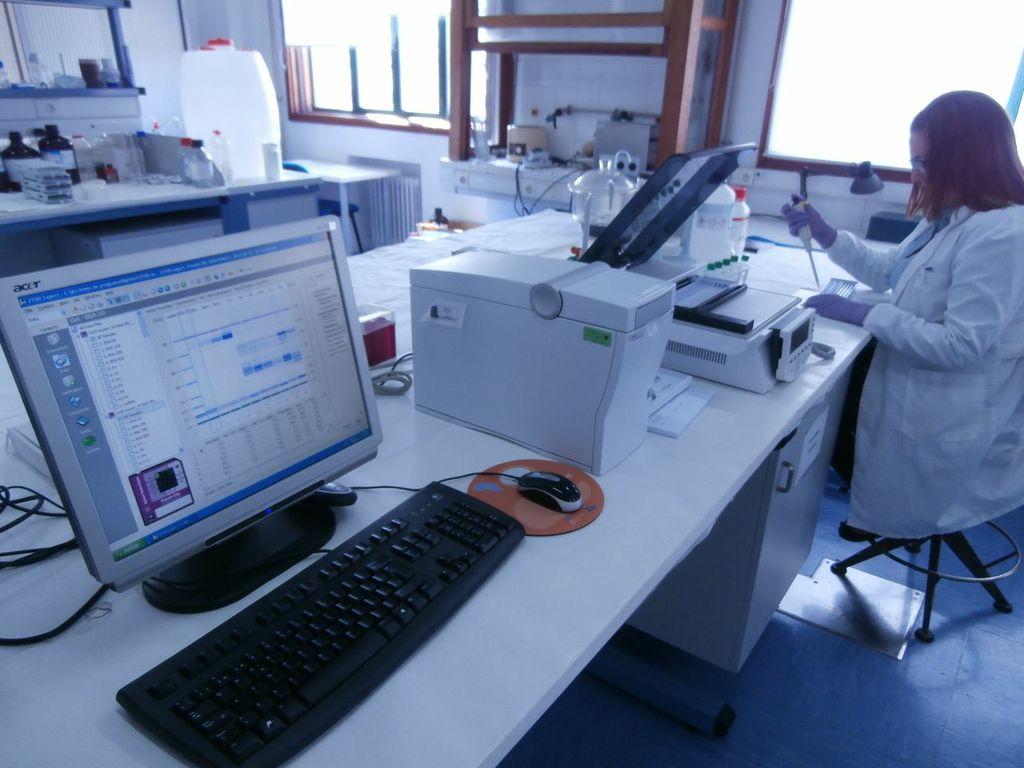 Electroforesis OffGel y Bioanalizador Electroforetico