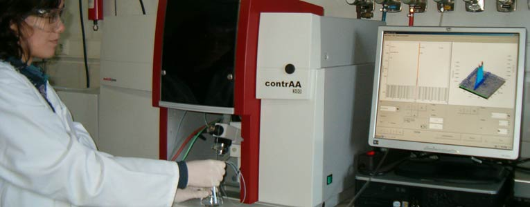 Espectroscopia de Absorcion Atomica con fuente continua, CSAAS